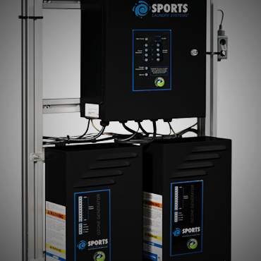 Sports Laundry System Ozone Tower